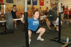 Colleen backsquat