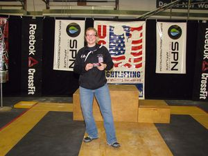 Best Lifter Women - Arlene Ward