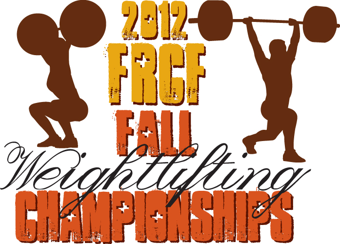 Weightlifting Meet 2012 Front Graphic